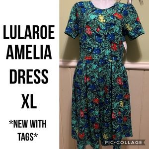 Lularoe Amelia XL Dress